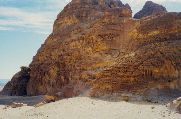 Sinai Rock Outcrop